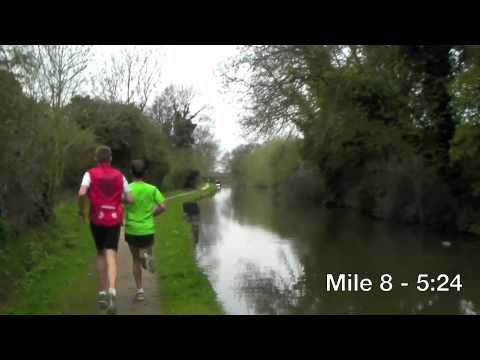 John Beattie and Luke Cragg 24 mile tempo