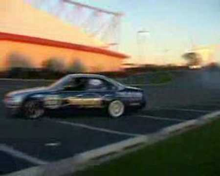 Telstra drift demo by Curt Whittaker