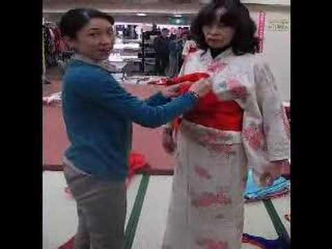 Kimono nasıl giyilir? (How to wear kimono)