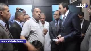 بالفيديو والصور.. محافظ بني سويف يتفقد مركز ومدينة سمسطا ويزور المستشفي المركزي