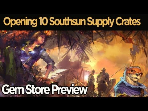 Guild Wars 2 - Opening 10 Southsun Supply Crates
