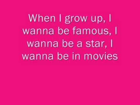 When I Grow Up Pussycat Dolls Lyrics