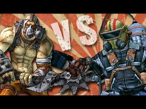 Borderlands 2 - Krieg the Psycho Vs. Pyro Pete the Invincible