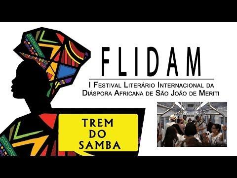 CULTNE - Trem do Samba - FLIDAM 2013