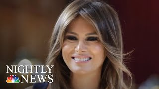 First Lady Melania Trump Calls For Firing Of Top National Security Aide   NBC Nightly News - NBCNEWS