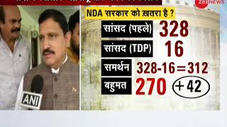 TDP to support no confidence motion against centre- Watch who said what - ZEENEWS