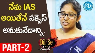 La Excellence IAS Academy Faculty D Malleswari Reddy Interview Part #2 || Dil Se With Anjali - IDREAMMOVIES