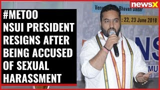 #MeToo NSUI president Fairoz Khan resigns after being accused of sexual harassment - NEWSXLIVE