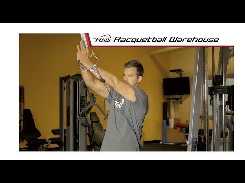 Racquetball Weight Training | Reverse Woodchop