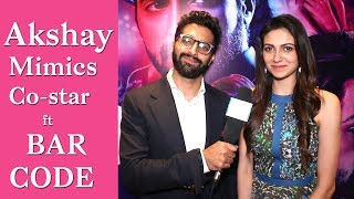 Akshay Oberoi & Simran Kaur Mundi get chatty about BarCode I Exclusive I TellyChakkar - TELLYCHAKKAR