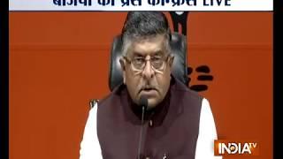 Rafale row: BJP hits back at Rahul Gandhi, says his statement on PM 'shameful, irresponsible' - INDIATV