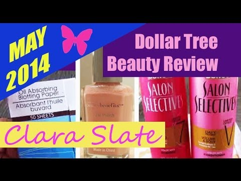 Dollar Tree Beauty Review! Oil blotting paper, WNW Beauty Benefits polish, Salon Selectives