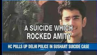 High Court pulls up Delhi police in Sushant Rohilla suicide case - NEWSXLIVE