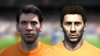 FIFA 13 vs PES 13 Head to Head - Faces #4 HD