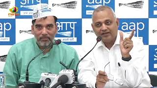 AAP Wants Court Monitored CBI Enquiry Into The Raid By Fake Income Tax Officials | Mango News - MANGONEWS