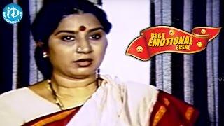 Telugu Movies || Best Emotional Scene || Jwala Movie || Chiranjeevi, Radhika, Bhanupriya - IDREAMMOVIES