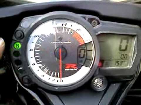 How to set a gsxr 600, 750, 1000 shift light