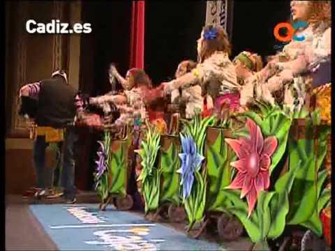 Sesión de Preliminares, la agrupación Mariquilla la cantaora actúa hoy en la modalidad de Comparsas.