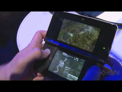 Metal Gear Solid Snake Eater 3D - E3 2011: Gameplay Off-Screen