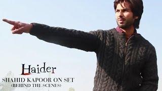 Haider |  Shahid Kapoor On Set | Shraddha Kapoor | Behind The Scenes - UTVMOTIONPICTURES