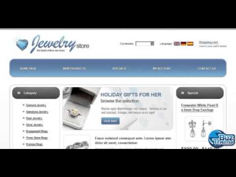 Download Jewelry OsCommerce Template by  Di TM osCommerce Templates