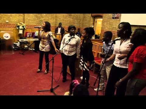 The Church of Pentecost Cardiff and Reading Districts Youth Praises and Worship Night 3