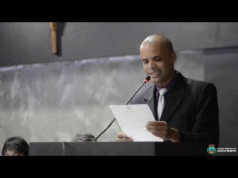 Sessão Solene de entrega de Título de Cidadão Capão-Bonitense ao Sr João Consorte