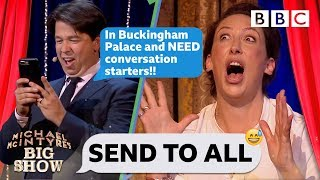 Send To All with Miranda Hart - Michael McIntyre's Big Show: Episode 5 - BBC One - BBC