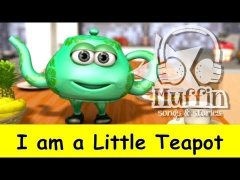 Muffin Songs – I'm a Little Teapot Tekerlemeler ve İngilizce Çocuk Şarkıları