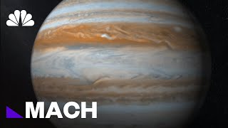 Scientists Discover Twelve New Moons Orbiting Jupiter, One Of Them Is An Oddity | Mach | NBC News - NBCNEWS