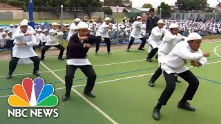 Mourning Muslim Students Perform Famed Traditional Dance In New Zealand | NBC News - NBCNEWS