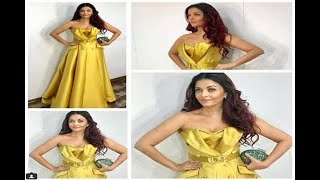 In Graphics: You will be shocked to know the price of dress which aishwarya wore in the am - ABPNEWSTV