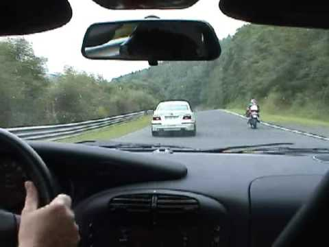 BMW ring Taxi vs Porsche 911 on the Nurburgring (The Nordschleife!)