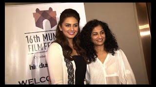 Huma Qureshi, Gauri Shinde at MAMI film festival - BOLLYWOODCOUNTRY