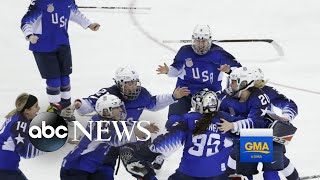 US wins Olympic gold in women's hockey - ABCNEWS