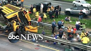 At least 2 dead in school bus crash - ABCNEWS