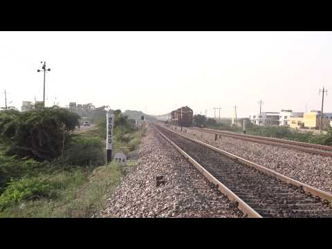 Amaravathi express hauled by Gooty WDG 3A twins
