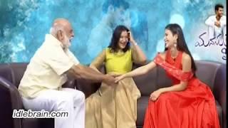Raghavendra Rao, Manjula & Amyra Dastur interview about Manasuku Nachindi - idlebrain.com - IDLEBRAINLIVE