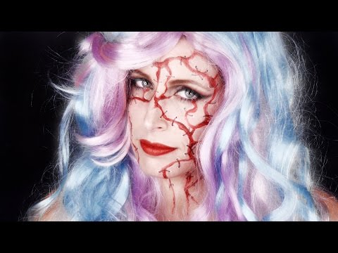 💀 Trucco Halloween 2016 FACILE VELOCE Zombie Lady 😱