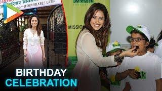 Sonu Ke Titu Ki Sweety actress Nushrat Bharucha celebrates her birthday with Smile Foundation kids - HUNGAMA