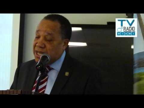 TVRadioMiami - Magistrado Rafael Diaz Filpo disertó sobre la *Evolución de la Constitución en Rep. Dominicana*