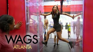 """WAGS Atlanta"" Couples Run a ""Ninja Warrior""-Style Course 