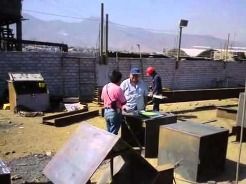 VIDEOS ESTRUCTURAS METALICAS Y MONTAJES TECMETAL PERU SAC