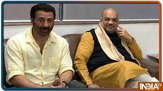 Sunny Deol बन सकते हैं Punjab से BJP के उमीदवार, Amit Shah से हुई मुलाकात - INDIATV