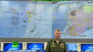 Russian MoD briefing on downed Il-20 in Syria (streamed live) - RUSSIATODAY