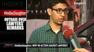 #Indiasdaughter: Outrage Over Lawyers' Remarks - NDTV