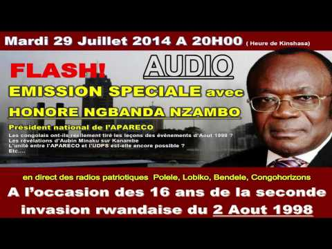 INTERVIEW DE M HONORE NGBANDA A L