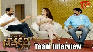 Gautamiputra Satakarni Team Special Interview | Balakrishna, Shriya And Krish - TELUGUONE