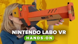 Nintendo Labo VR had us looking up a duck's butt - CNETTV