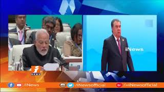 PM Narendra Modi Meets Chinese President Jinping At SCO summit | iNews - INEWS